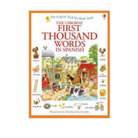 Usborne My First Thousand Words in Spanish Book NEW Paparback