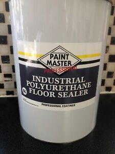 Industrial Polyurethane Floor Sealer For Concrete Floors Prior Painting.