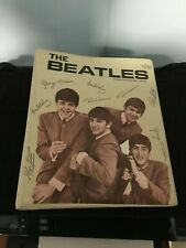 1964 Original SP Beatles Tan MINT 3 Ring Binder