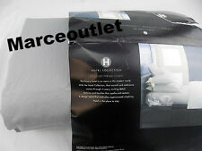 Hotel Collection 525 Thread Count Cotton QUEEN Flat Sheet & Cases Smoke Gray