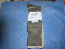 Adolfo, Mens Cotton Dress Socks, Size 6-1/2-12, 4 Pack, New with Tags
