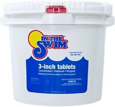 """In The Swim 3"""" Inch Swimming Pool Chlorine Tablets 25lbs *** FREE SHIPPING ***"""