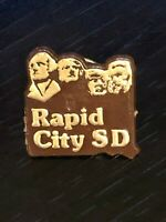 Collectible Vintage Rapid City SD Plastic Pinback Hat Pin Lapel Pin