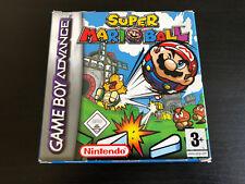 Super Mario ball Jeu Game Boy Advance GBA complet