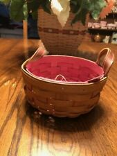 Longaberger Hope Inside Button Basket