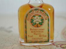 VINTAGE VERY RARE PERFUME OIL L'OCCITANE 5 ML MAGNOLIA EXTRACT PARFUM