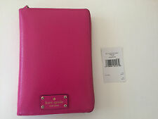 NWT Kate Spade Wellesley 2017 Zip Around Personal Organizer Planner Agenda pink