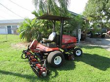 """Toro Reelmaster 5500D Kubota 5 gang 96"""" cut Reel Lawn Mower Rebuilt Reels 03550"""