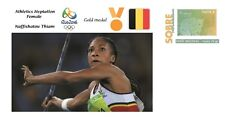Spain 2016 - Olympic Games Rio 2016 - Gold medal Athletics female Belgium cover