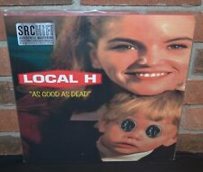 LOCAL H - As Good as Dead, Ltd/500 1st Press 180G 2LP YELLOW VINYL Gatefold + DL