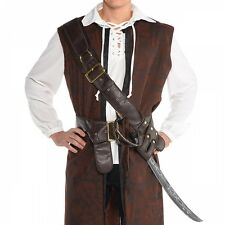 Baldric Adult Pirate Costume Bandolier Belt Halloween Fancy Dress