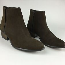 Steve Madden Nytroo Chelsea Bootie Ankle Boots women's 8.5 Brown