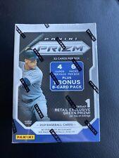 2021 prizm baseball blaster Box factory sealed. 6 packs +1 bonus 8 card pack