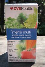 CVS Health Men's Multi Whole-Food Based Vitamin, 90 Capsules EXP 3/21