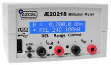 AE20218 Milliohm Meter, 0.1 Milliohm Auflösung, Komplett-Bausatz mit Gehäuse/USB