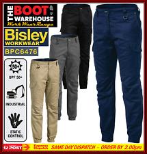 Bisley Men's Workwear BPC6476 RIPSTOP Stove Pipe Engineered Cargo Work Pants
