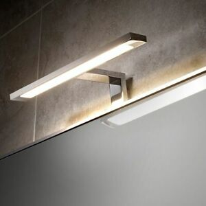 LED Over Mirror Cabinet Cupboard Picture Kitchen Bathroom Light Mains Power IP44