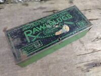 Collectable Vintage c1950's Rawlplug Mechanics Outfit Tin Only