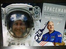 New ListingMichael Massimino Authentic Hand Signed Autograph 4X6 Photo - Nasa Astronaut