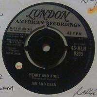 "Jan And Dean(7"" Vinyl 1st Issue)Heart And Soul-London-HLH 9395-UK-Ex/VG+"