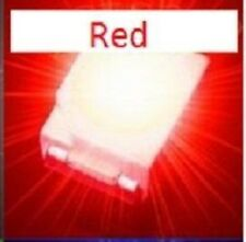 50 x ULTRA BRIGHT RED 1210 3528SMD SMT PLCC-2 SURFACE MOUNT ULTRA BRIGHT LEDS