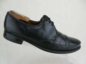 FLORSHEIM Apron-Toe Black Sz 11 C Men Dress Shoe Derbys