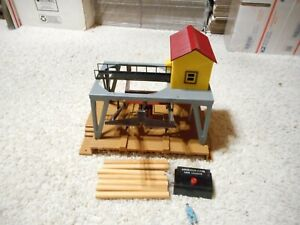 S SCALE AMERICAN FLYER #787 LOG LOADER