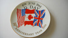 50th Anniversary D-Day Plate Kirkholme Collectables 1994