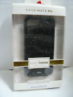 (Wholesale Lot of 20) CASE MATE NAKED TOUGH CASES FOR IPHONE 5/5S/SE GLAM Black
