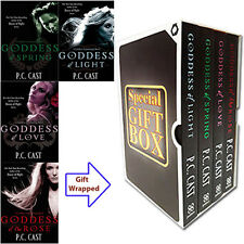 Goddess Summoning Series By P. C. Cast 4 Books Collection Gift Wrapped Slipcase