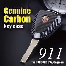 USA STOCK CARBON FIBER Remote Key Fob  for PORSCHE 997 911 Boxster 987 Cayman