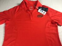 Oklahoma State Polo Shirt Womens Small Dri-Fit OSU Cowboys Student Alumni Drytec
