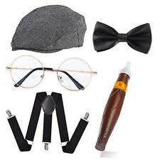 New listing 1920s Gatsby Gangster Costume Accessories Old Man Costume Grandpa Style 2