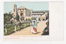 Ciudad Juarez,Mexico,Chihuahua,Plaza & Mission Guadalupe,c.1901-06