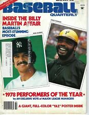 1978 Sports Quarterly Baseball magazine Ron Guidry New York Yankees Parker POOR