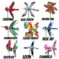 BIRD WIND SPINNERS PREMIER DESIGNS CARDINAL, FLAMINGO, PARROT, ETC YOUR CHOICE!!