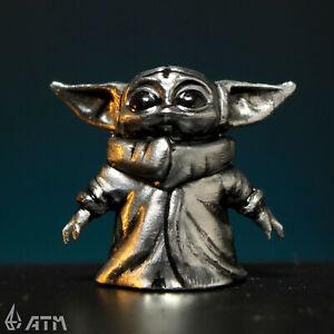 Grogu STAR WARS figure baby Yoda Mandalorian (Metal)