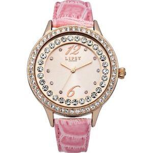 Lipsy Rose Gold Dial Pink PU Strap Ladies Watch LP338