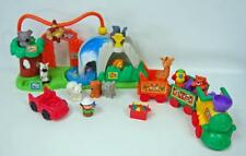 2007 Fisher-Price Little People Surprise Sounds Peek 'n Play Zoo COMPLETE W/ EXT