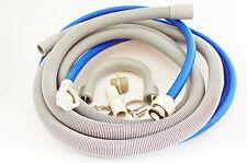 WASHING MACHINE / DISHWASHER FILL WATER & DRAIN HOSE EXTENSION KIT 4M + GIFT