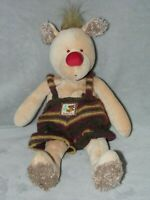 MOULIN ROTY BROWN BEAR SOFT TOY LES ZOUZOUS COMFORTER DOUDOU