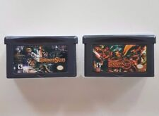 2x Golden Sun: 1, The Lost Age Gameboy GBA/SP/DS Games