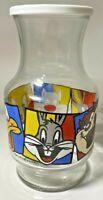 1994 Warner Brothers Juice Jar Sylvester Tweety Bird Daffy Duck Bugs Bunny & Taz