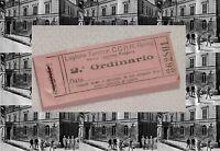 R@RISSIMO BUONO(2° ORDINARIO) MENSA CARABINIERI CASERMA PODGORA ROMA ANNO 1930