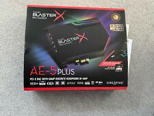 Creative Sound BlasterX AE-5 Plus Soundkarte - Schwarz (70SB174000003)