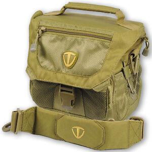 NEW Tenba Vector Shoulder Bag Case+Waterproof Cover fit Camera+Lens+Flash Unit