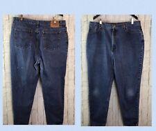 """Vintage LEVI'S 550 Jeans High Waist Tapered Mom Plus Size 18W 20W 40""""W // w473"""