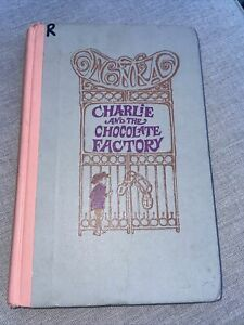 Vintage Hardcover Book Charlie and the Chocolate Factory by Roald Dahl