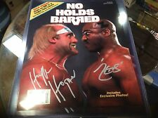 Tiny Lister Zeus Hulk Hogan Signed WWF No Holds Barred 8x10 Glossy Photo WWE