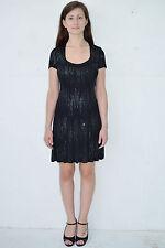Vintage 90's Blac 00004000 k Sparkles Babydoll Mini Dress by Carabella Size Small - Usa